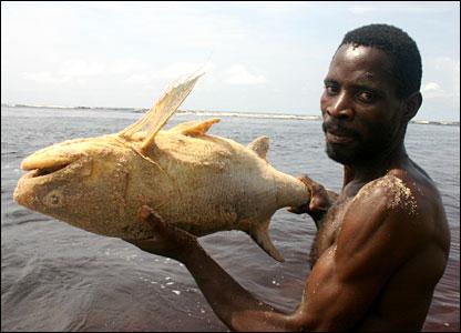 Congolese fisherman