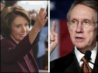 Nancy Pelosi and Harry Reid