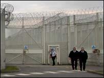 Prison perimeter fence