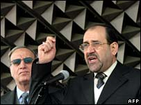 Nouri Maliki (R)