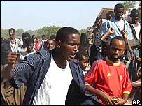 Somalis protest in Mogadishu
