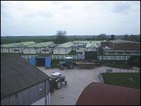 North Sea Camp farm