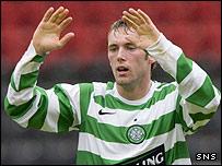 Celtic reserve striker Jim O'Brien