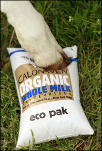 Cow's hoof on a reusable eco pak