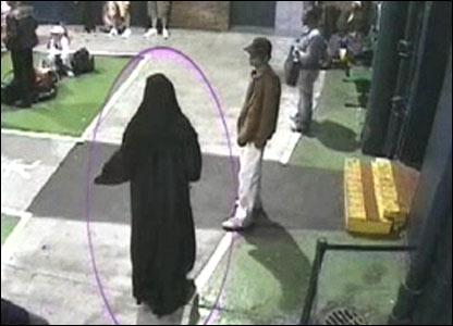 Yassin Omar fled to Birmingham dressed in a woman's full-length burka