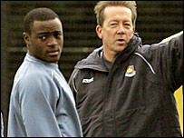 West Ham captain Nigel Reo-Coker and manager Alan Curbishley