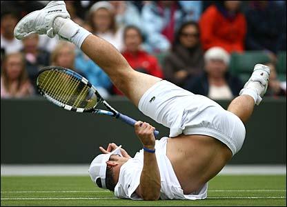 Third-seed Andy Roddick