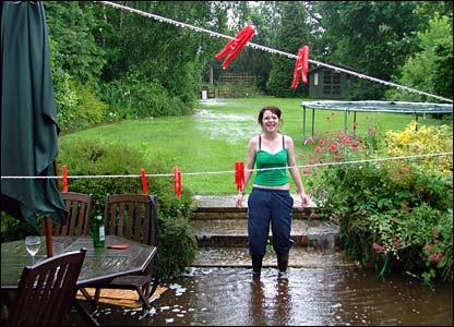 Rain in Lincs