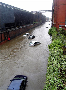 Flooding at Brightside Lane