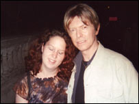 Meeting David Bowie