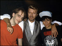 Meeting David Bowie in New York