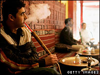 Shisha bar in north London