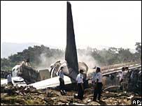 Airline crash in Indonesia