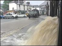 Corwen floods