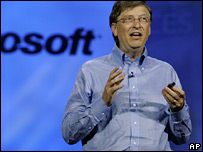 Bill Gates in Las Vegas on 7 January