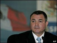 Genaro García Luna, secretario de Seguridad Pública de México