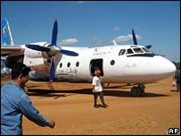 PMT AN-24 plane (file picture)
