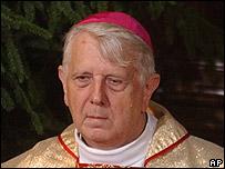 The outgoing Roman Catholic Archbishop of Warsaw, Stanislaw Wielgus