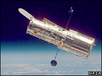 Hubble space telescope. Image: Nasa/Getty