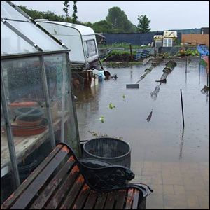 Allotments under water