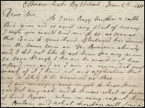 Letter from James Hogg to John Murray (courtesy of the John Murray Archive)