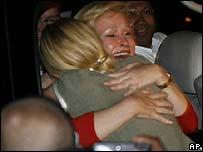 Paris Hilton con su madre Kathy