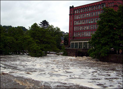 Belper Mill in Derbyshire
