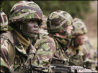 UK troops
