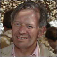 UK ambassador to Afghanistan, Sir Sherard Cowper-Coles