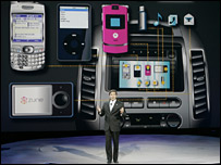 Microsoft-Ford presentation