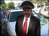 Abdullah, driver of limousine in Kabul
