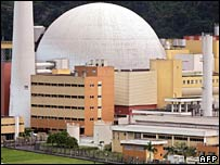 Angra 2 nuclear power plant in a file photo from 2005
