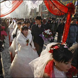 Chinese couples