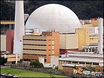 Central nuclear brasileña Angra 2