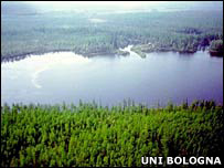 Lake Cheko    Image: University of Bologna