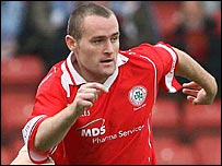 Conor  Downey of Cliftonville