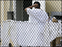An unnamed detainee