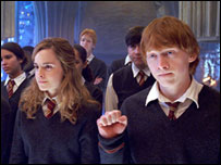 Hermione and Ron in Order of the Phoenix
