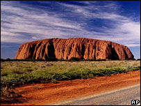 Uluru, formerly known as Ayers Rock (file photo)