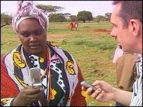 Paul Mason meets a mobile-wielding Maasai tribeswoman