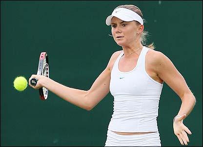 Slovakian tenth seed Daniela Hantuchova