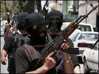 Combatientes de Hamas