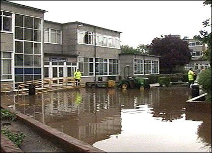 Minster School in Southwell, Nottinghamshire