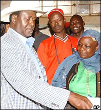 Raila Odinga intends to run for president in 2007