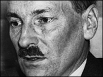 Clement Attlee in the BBC Daily Politics Favourite Peacetime Prime Minister poll