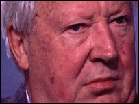 Edward Heath in the BBC Daily Politics Favourite Peacetime Prime Minister poll