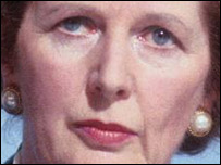 Margaret Thatcher  in the BBC Daily Politics Favourite Peacetime Prime Minister poll