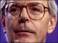 John Major in the BBC Daily Politics Favourite Peacetime Prime Minister poll