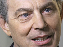 Tony Blair in the BBC Daily Politics Favourite Peacetime Prime Minister poll