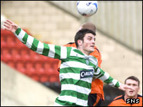 Celtic striker Diarmuid O'Carroll